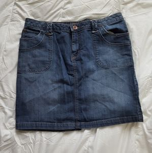 Arizona Jean Co. Denim Jean Skirt Size 15